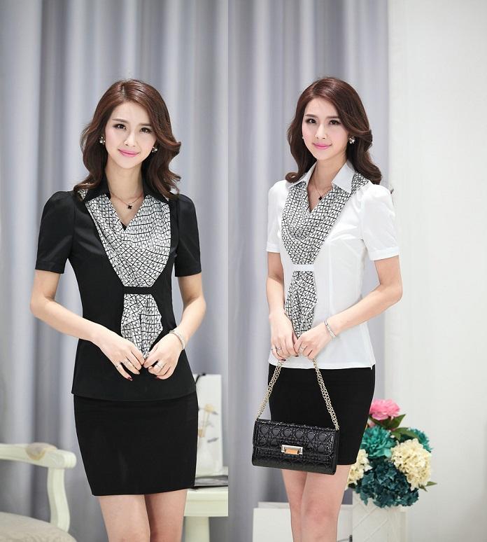 Office Uniform Designs for Women Blouses- Aliexpress.com経由 ...