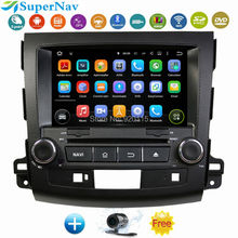 "8""Quad Core 1024x600 Android 5.1.1Car DVD GPS for Mitsubishi Outlander 2006 2010 2011 2009 2008 2012 BT 3G With DVD GPS Wifi 3G(China (Mainland))"