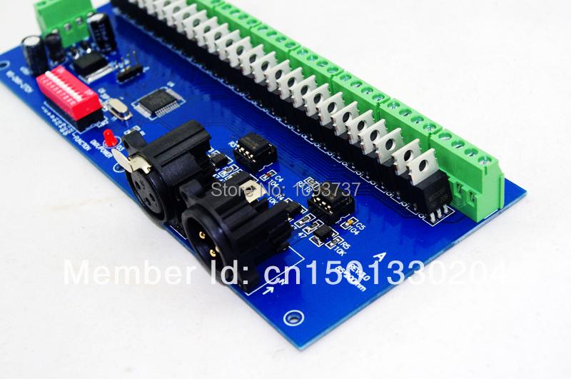 LED DMX512 27CH DECODER   DMX512  Dimmers