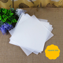 500pcs 25x25cm non-stick baking parchment grease-proof oil paper kitchen BBQ Barbecue Grilled baked favors baking wax paper