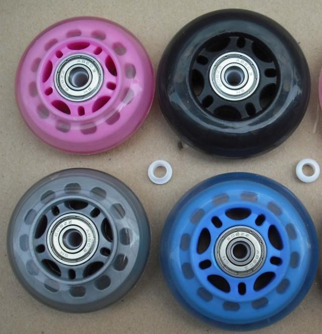 Как сделать колеса для роликов