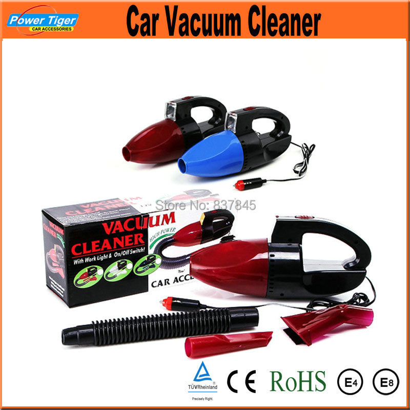 Car Automotive Electronics 35W Super Suction Mini 12V High-Power Wet and Dry Portable Handheld Car Vacuum Cleaner Wash Red Color(China (Mainland))
