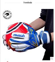 Brand Professional Brazilian Original Reusch Thickened Senior M1 Latex plan Soccer/Football Goalkeeper Gloves(China (Mainland))