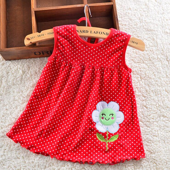 HOT 2016 new 1pcs Retail Baby Dresses Girls Dress 0-2years Cotton Clothing Dress Summer Clothes ZL5214