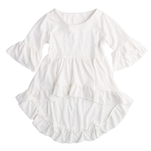 Children Baby Kid Tops pretty elegant Princess Girls Clothing Blouse Kids White Ruffled Cotton Outfits Tops Clothes Kid Girl New(China (Mainland))