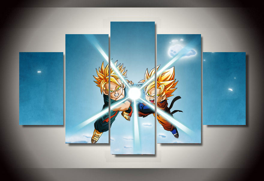 No Frame  Cartoon Poster DRAGON BALL Canvas Painting Large HD Wall  Pictures For Living Room Top rated Wall Art Modular Pictures. Online Get Cheap Wall Poster Dragon  Aliexpress com   Alibaba Group