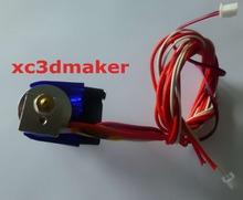 3dprinter Extruder jhead E3d v6 Stampante Testina Di Stampa Estrusore Con Cavo A Distanza Il Tubo Un Ventilatore E Una Staffa