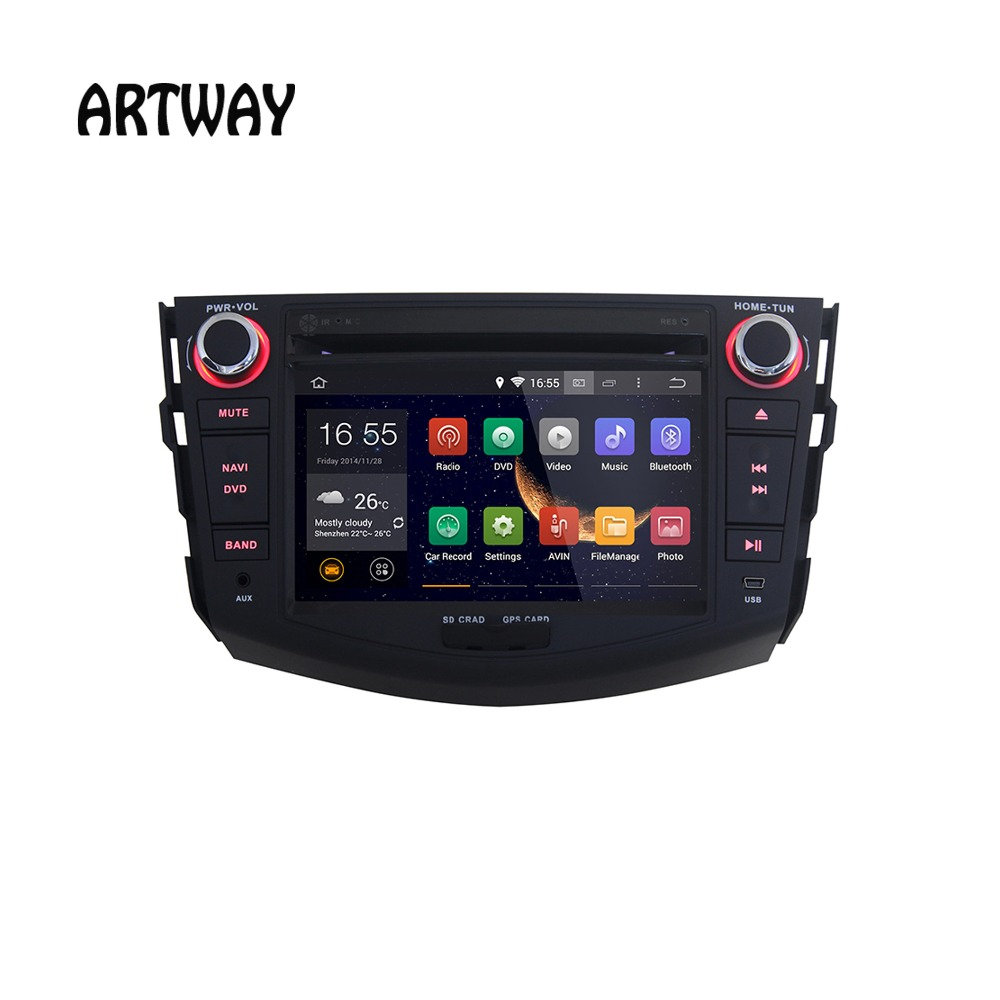 7inch 2 Din Android 4.4 Car DVD Player GPS Navigation For Toyota RAV4 J-8820 With Audio 1080P Video Playback Bluetooth Wifi MP4<br><br>Aliexpress