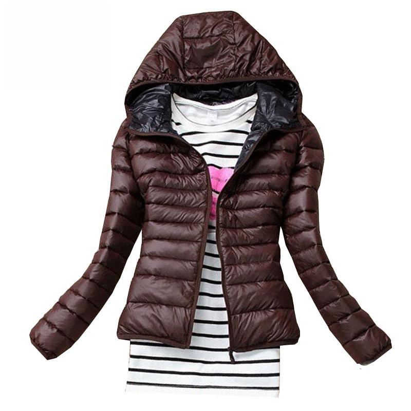 2016 New Women Cotton Jacket Hooded Women Coat Plus Size Thicken Winter Short Cotton Padded Outwear Casual Slim Women Jackets(China (Mainland))