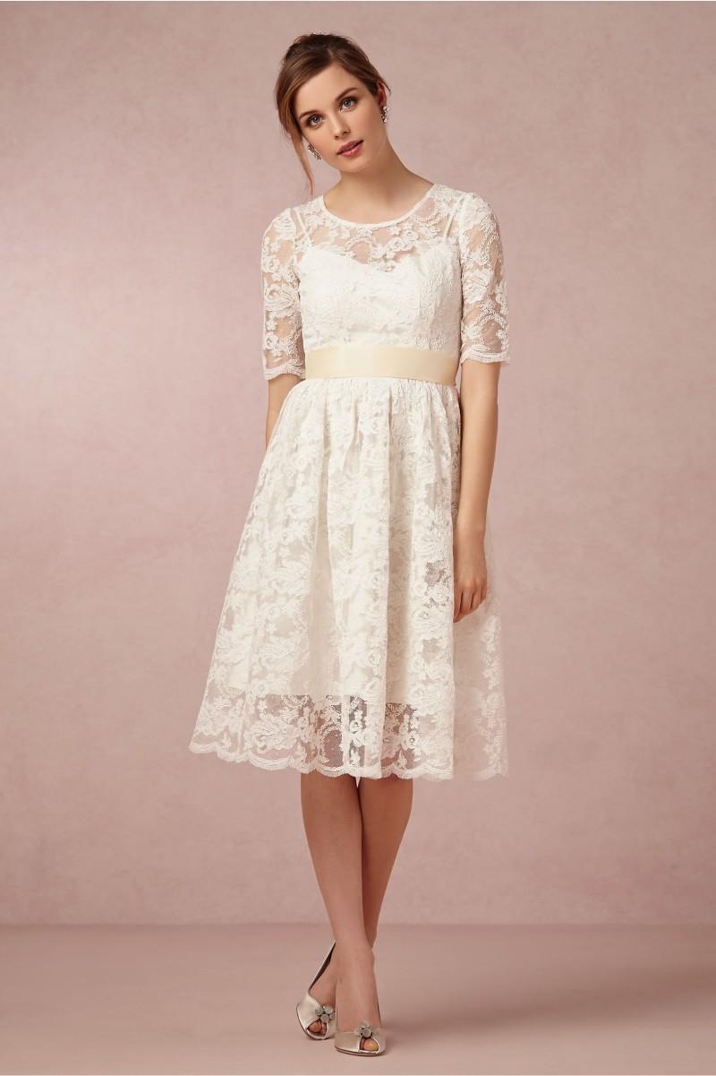 vestidos novia rodilla