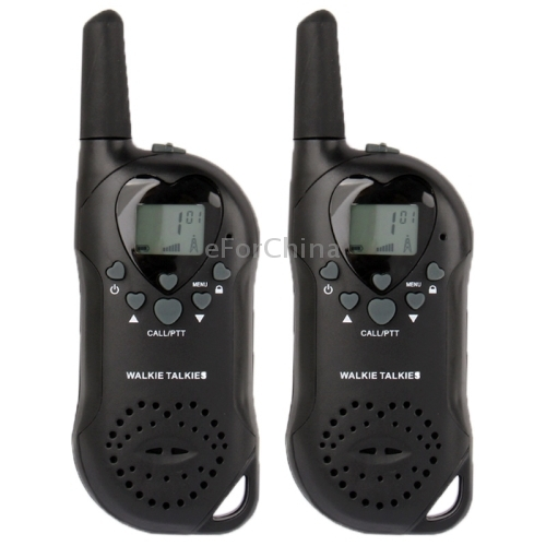 400 470MHz T 6 1 0 inch LCD 5KM Walkie Talkie Black The price is for