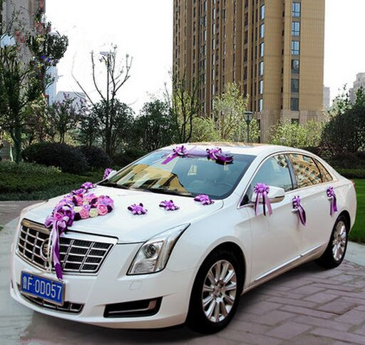 Chinese Wedding Car Decoration With Flowers Wedding Favors Wedding