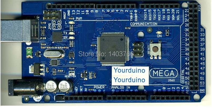 Best price for Arduino MEGA Compatible MEGA2560 R3(China (Mainland))