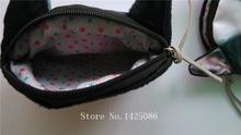 New Cute Cat Face Zipper Case Coin Purse female Wallet child purse Makeup Buggy Bag Pouch