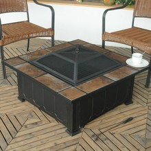 outdoor square barbecue fire pit(China (Mainland))