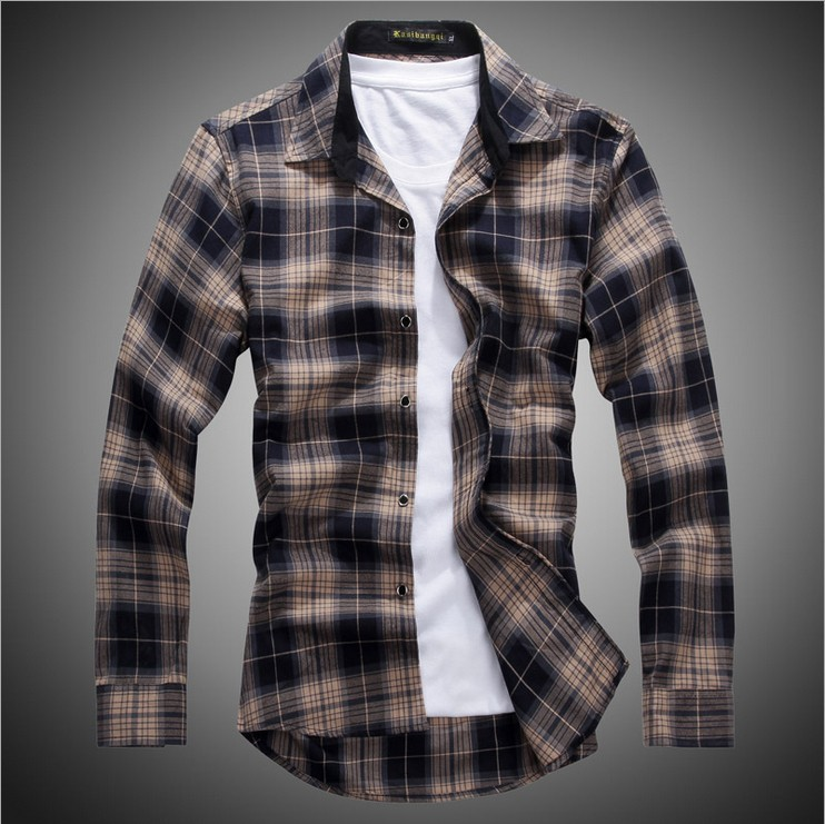 the gallery for gt check shirts for men new fashion 2014