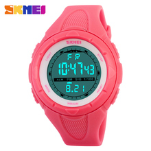 2016  SKMEI Luxury Brand women Military Sports fashion casual  Watches Digital LED Wristwatches rubber strap relogio masculino