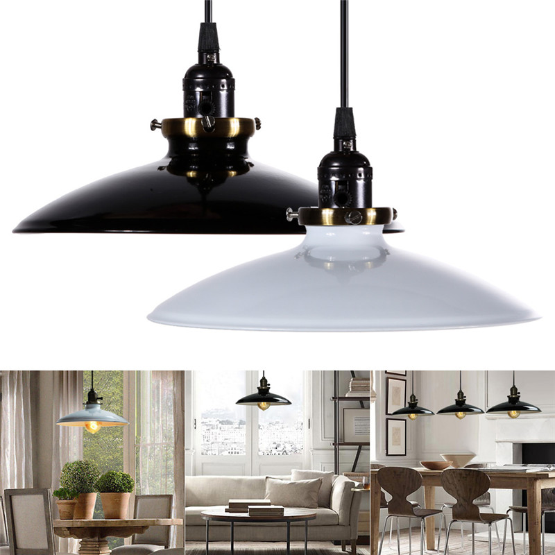 Home Light Pendant Lights Fixture Ceiling Lamp Retro Industrial Iron Vintage Home Decor Free