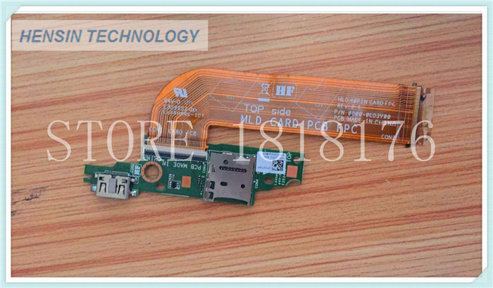 FOR Dell FOR Venue 11 Pro 5130 7130 Usb Interface board MLD DB HDMI CARD BOARD WITH CABLE<br><br>Aliexpress