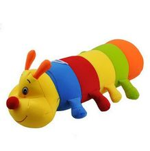 Cute Caterpillar Car Air Freshener Purifier Active Carbon Bamboo Charcoal Package Bag Toy(China (Mainland))