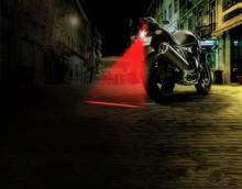Motorcycle Auto Anti-collision Laser Taillight Fog Lamp Car Anti-fog Parking Stop Tail Brake Car LED Warning Light Car styling(China (Mainland))