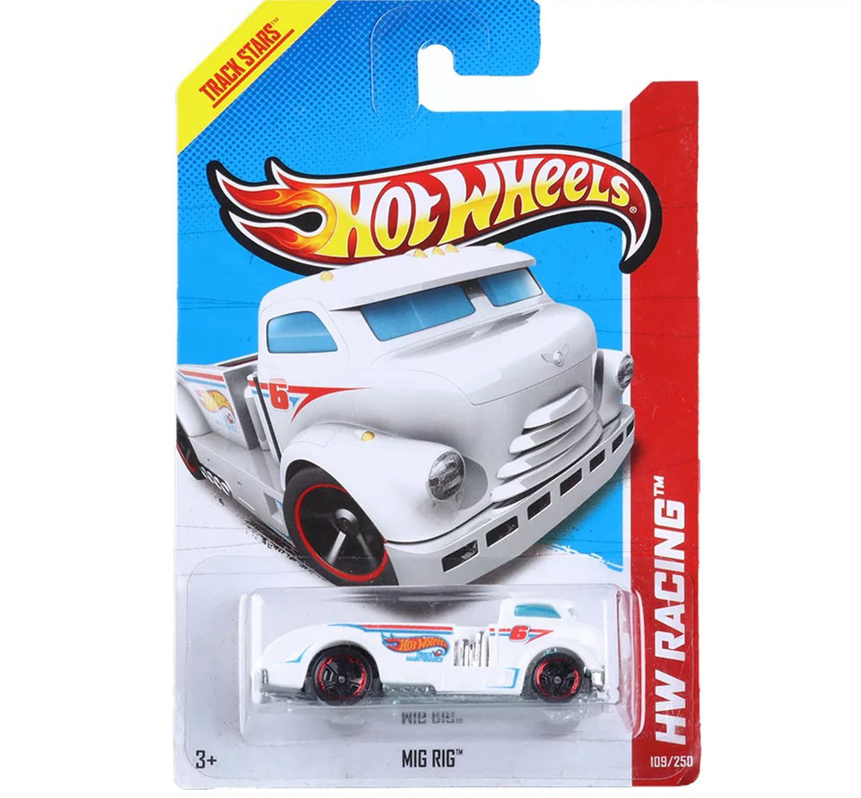 Free Shipping 2013 Hot Wheels MIG RIG Cars Metal Alloy Model For Colecter Wholesale Metal Cars For Car Lovers(China (Mainland))