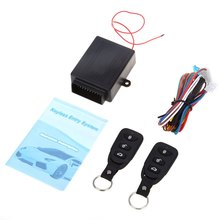433.92MHz Universal Electric with Air Lock Car Auto Vehicle Remote Central Kit Door Lock Unlock Window Up Keyless Entry System(China (Mainland))