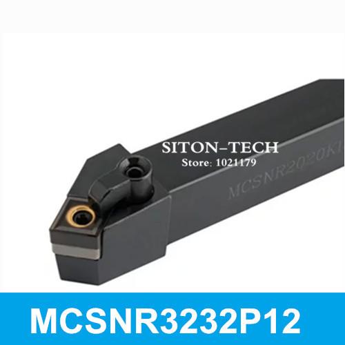 Инструмент для обработки деталей вращения MCSNR3232P12 CNC 32 * 32 * 170 , MCSNL3232P12 MCSNR3232P12 / MCSNL3232P12 инструмент для обработки деталей вращения mcmnn2020k12 100 cnc 20 20 125 mcmnn2020k12 100