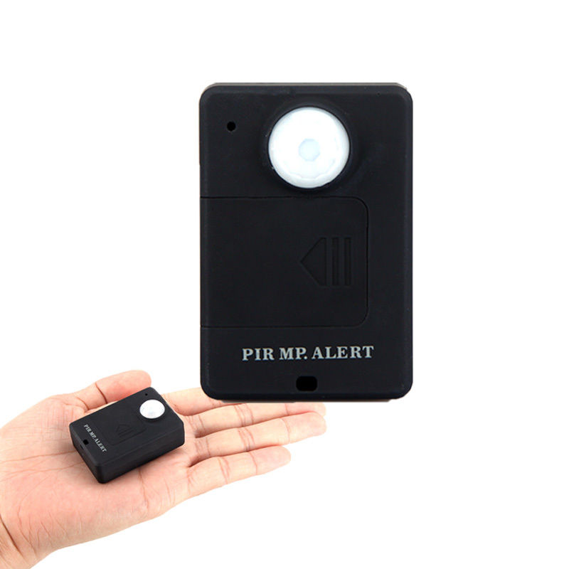 PIR MP Alert Sensor Motion Monitor Detector GSM SIM card Alarm Wireless System Free shippingFree Shipping
