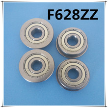 Buy 30pcs/Lot F628ZZ F628 ZZ 8x24x8mm Flange Bearing Deep Groove Ball Radial Ball Bearing Brand New for $25.56 in AliExpress store