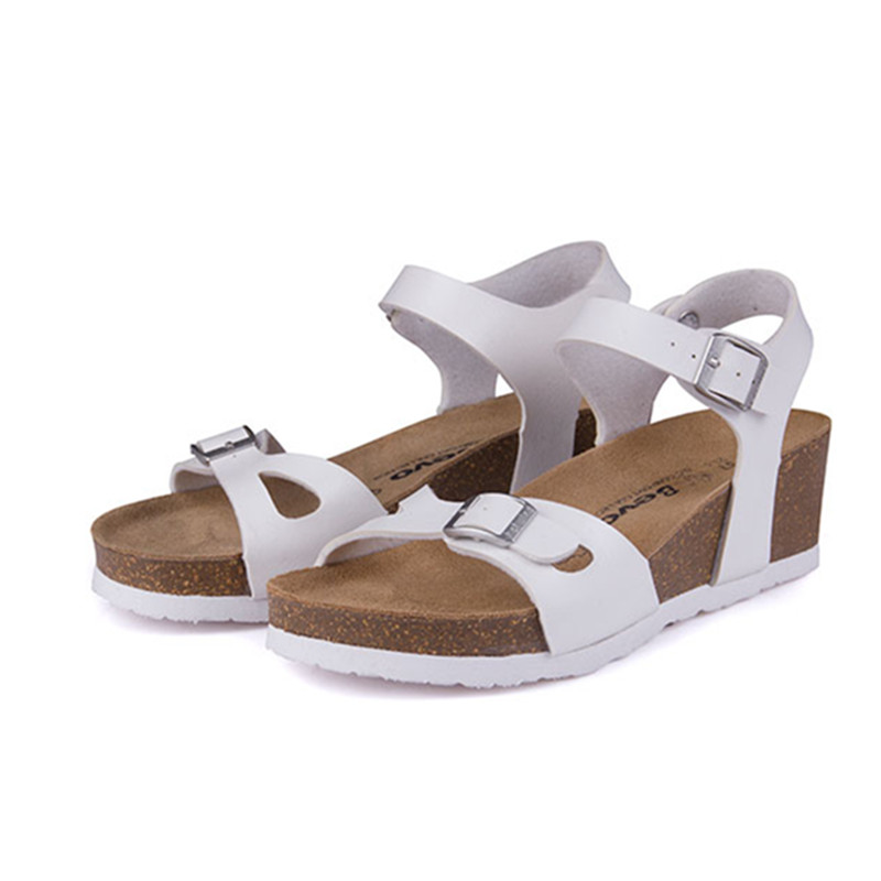 compare prices on white cork wedge sandal shopping