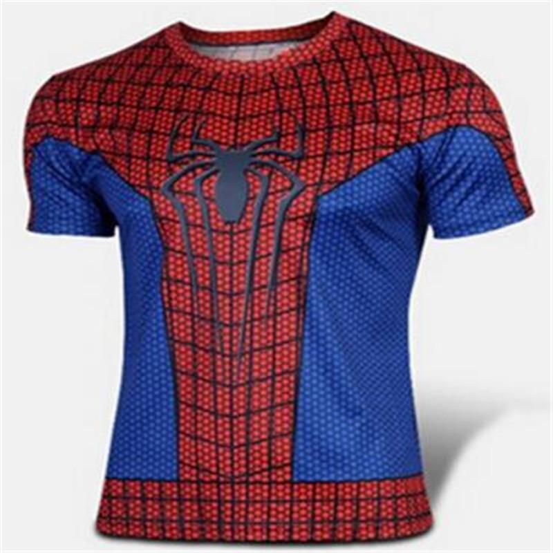 2016 Batman Spiderman Ironman Superman Captain America Winter soldier Marvel T shirt Avengers Costume Comics Superhero mens - 3D designed production Store store
