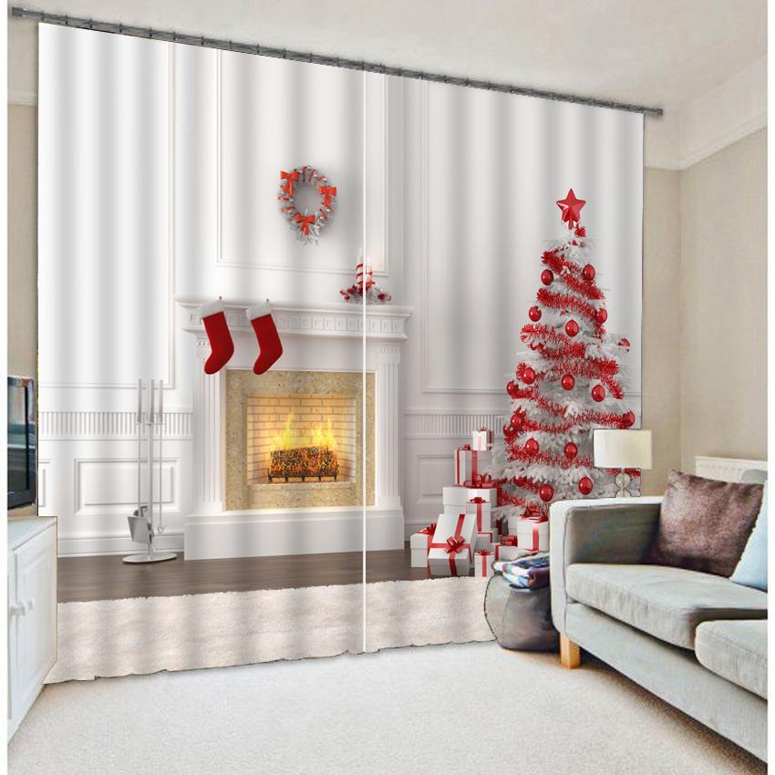 Kerstboom Gordijn-Koop Goedkope Kerstboom Gordijn loten van ...