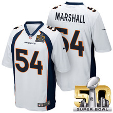 Denver Broncos,Peyton Manning,Von Miller,Emmanuel Sanders,Demaryius Thomas,Brandon Marshall ,Aqib Talib,with the 50th SB patch(China (Mainland))