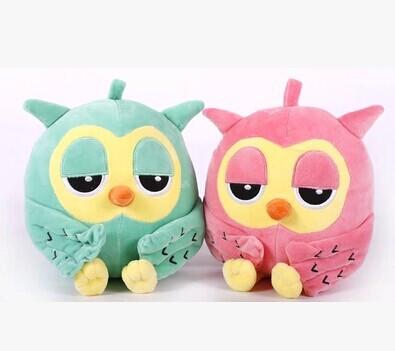 Stuffed animal 25cm lovely owl plush toy soft doll gift w3497(China (Mainland))