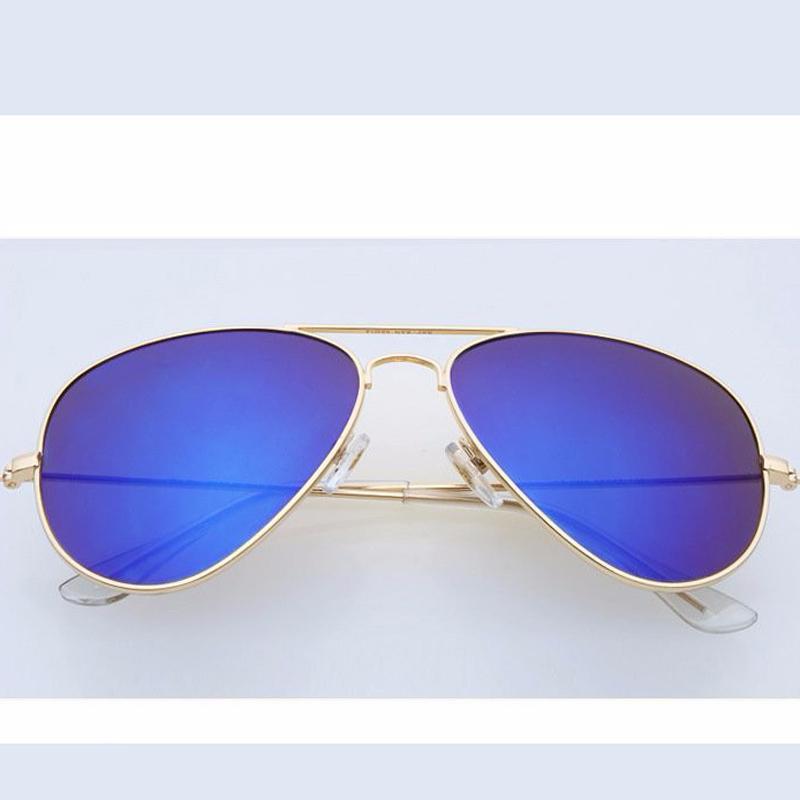 New Fashion Brand Men Polarized Sunglasses Aviator Rb 3025 Women Sun Glasses Eyewear Oculos Masculino Original Box With Logo(China (Mainland))