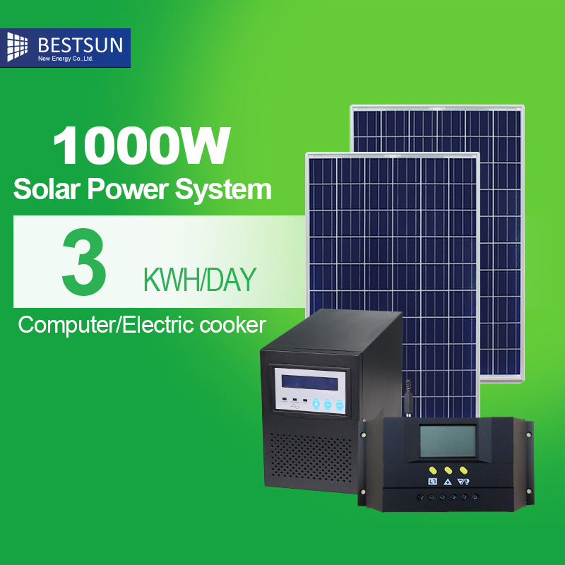 Factory Sale! Farm, China best Home PV 20kw Solar system supplier 1000w solar system price(China (Mainland))