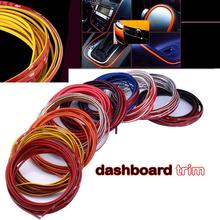 3meter Car Styling indoor Car Interior Exterior Body Modify Decal Auto Car Sticker Stickers Decoration Thread 10 Colors(China (Mainland))