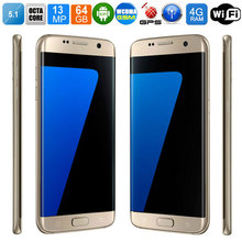 2016 New Arrival S7 Phone for Samsung Galaxy S 7 Unlocked Mobile Phone Octa Core MTK6592 4GB RAM 64GB SD Memory With Free Gifts