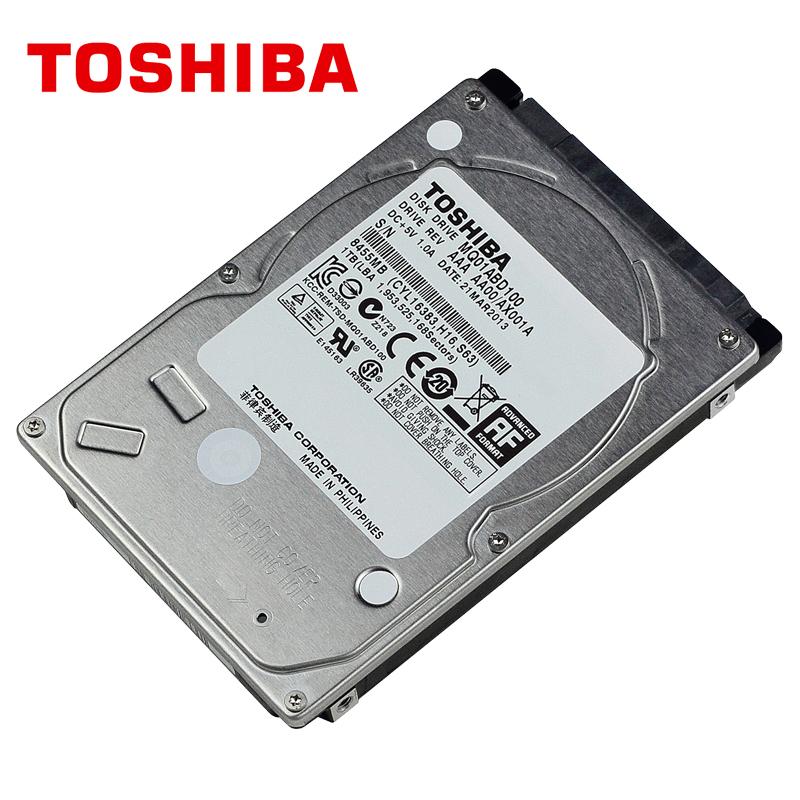 "TOSHIBA Laptop 1TB Hard Drive Disk 1000GB 1000G HDD HD 2.5"" 5400RPM 8M SATA2 Original New for Notebook(China (Mainland))"