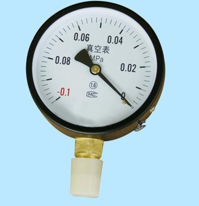 YZ-60 vacuum gauge vacuum gauge vacuum table -0.1 ~ 0Mpa vacuum table