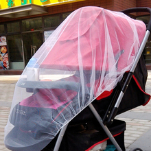 New Easy Infants Baby Stroller Pushchair Pram Mosquito Insect Net Netting Cover Mesh Buggy Elastic Design