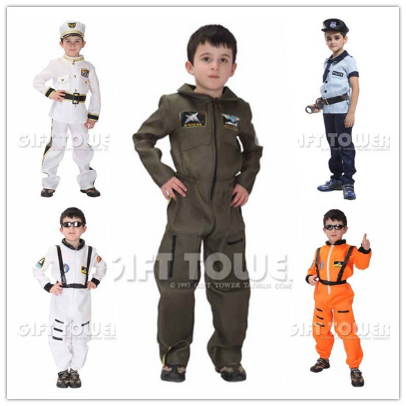 free shipping handsome air force cosplay costumes for boys/halloween cosplay costumes for kids/children cosplay costumes