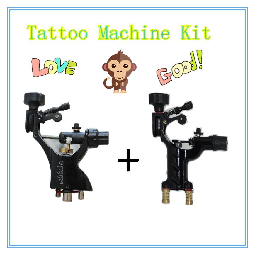 1pcs Stigma Bizarre V2 rotary tattoo machine + 1pcs Dragonfly Rotary Tattoo Machine Shader & Liner(China (Mainland))