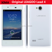 Original LEAGOO Lead 4 Smartphone Android 4.2 MTK6572W 4.0 Inch Dual Core Cell Phone 3G GPS