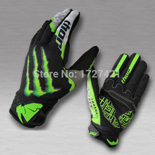 Free Shipping New Style Motorbike Motocross Racing Cycling Bicycle Off-road Bike Sport Full Finger Motorcycle Gloves M L XL(China (Mainland))