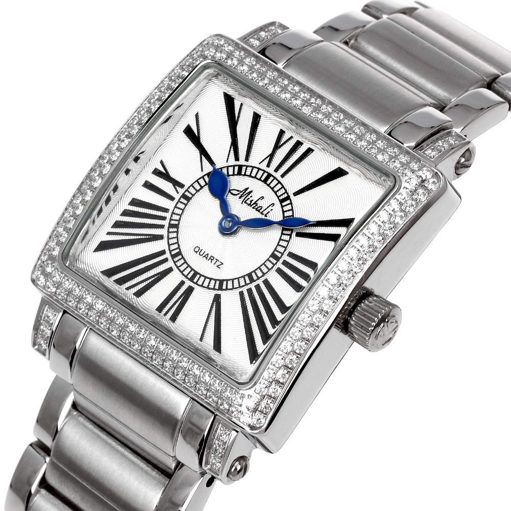 joan chan's jewelry store Wrist Watches Women Quartz Watches Square Water Resistant Stainless Steel Watches(China (Mainland))