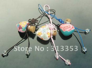 perfume vial cellphone charms,  Fragrance vials, Fragrance vial pendants, Fragrance vial necklaces
