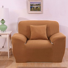 Universal sofa cover stretch brown solid color elastic reclining sofa slipcover for living room single double & Compare Prices on Reclining Sofa Covers- Online Shopping/Buy Low ... islam-shia.org