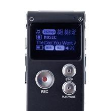 1set 8GB Voice Activated USB Digital Audio Voice Recorder Dictaphone  with U Disk Function black high quality(China (Mainland))